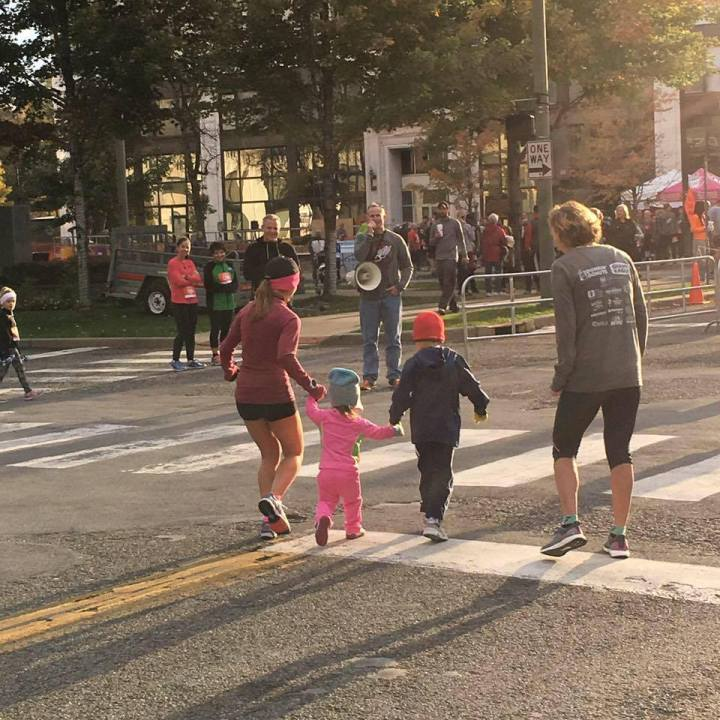 Running With Kids & Respecting The Course