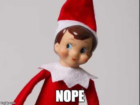 Elf On The Mom ShameShelf